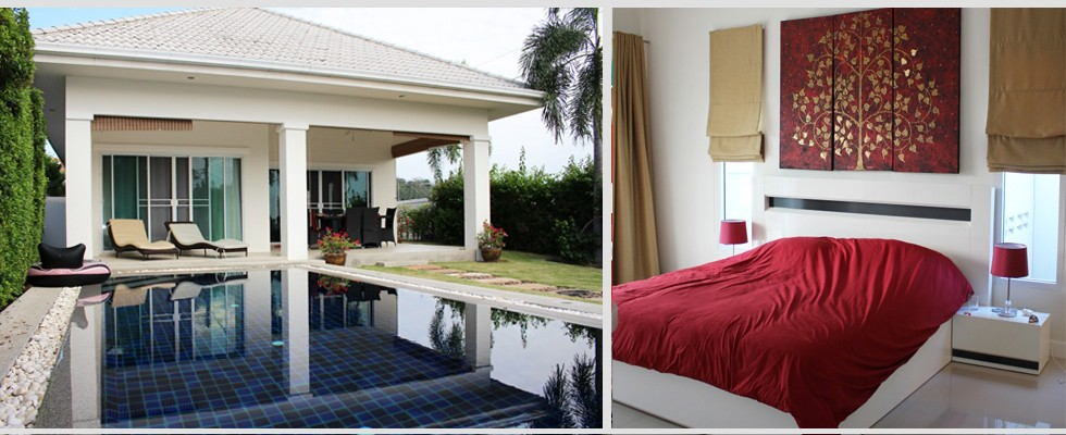 Villa for sale in Hua Hin : 4,650,000 Thai Baht.