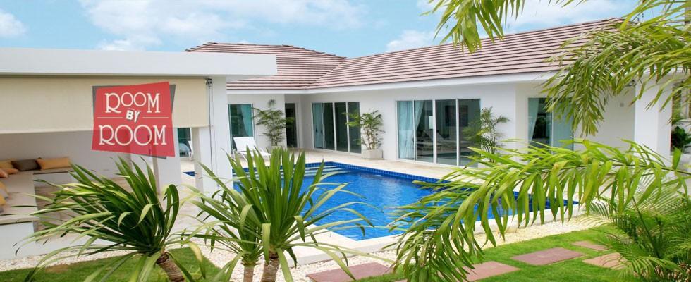Pool villa for sale in Hua Hin, Soi 88 - V6102