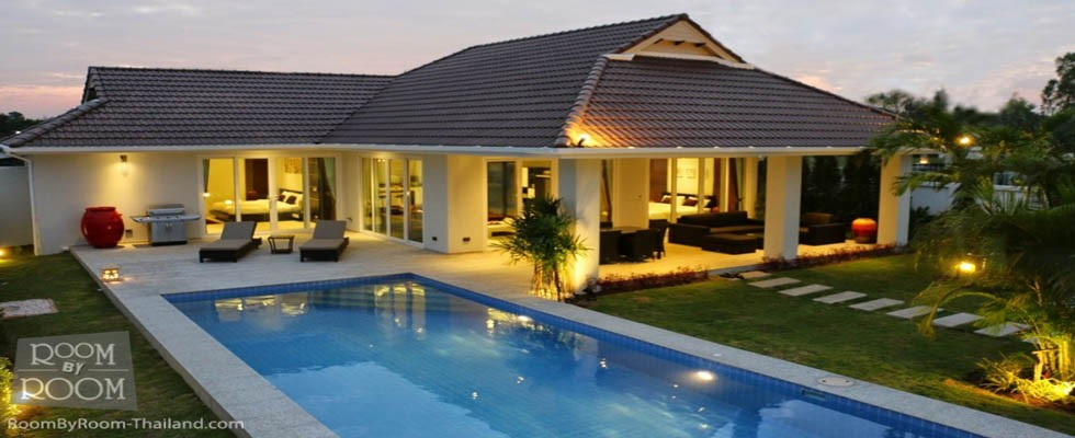 Smart House pool villas for sale
